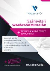 Számviteli Szabályzatmintatár + Számlarend --- Könyv + Pendrive (5.000 Ft kedvezmény)
