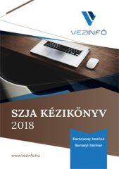 SZJA Kézikönyv 2018 (5.000 Ft kedvezmény)