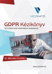 GDPR Kézikönyv 2018 (5.000 Ft kedvezmény)
